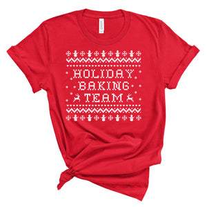 Holiday Baking Team - Adult Holiday Tee