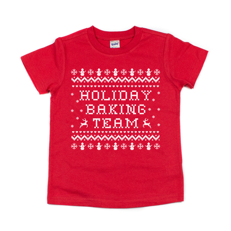 Holiday Baking Team - Kids Holiday Tee