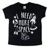 I need more space funny kids space tshirt funny kids tshirt funny shirt for kids boy girl toddler baby space tee shirt