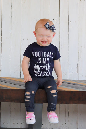 Football is my Favorite Season - Kids Tee