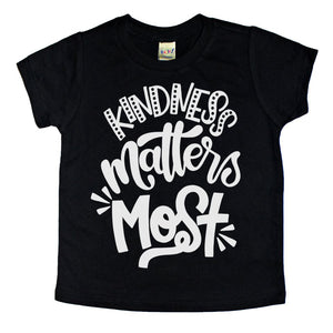 kids kindness tshirt cute graphic kids tee toddler tshirt