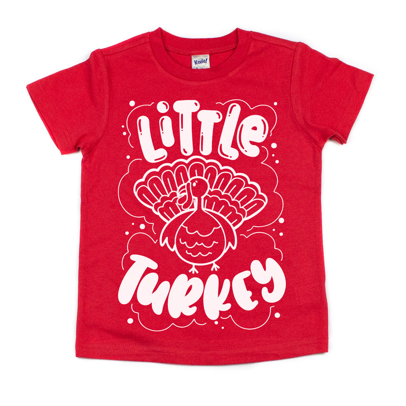 Little Turkey - Kids Thanksgiving Tee