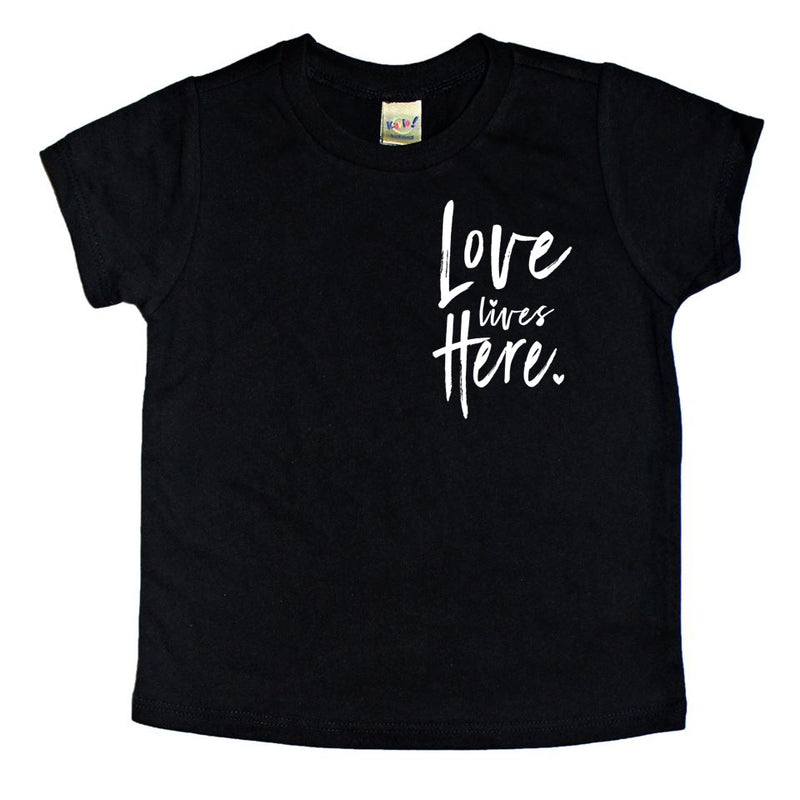 Love Lives Here - Kids Tee