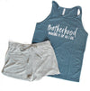 Making it Up as I Go - Heather Slate Unisex Tank