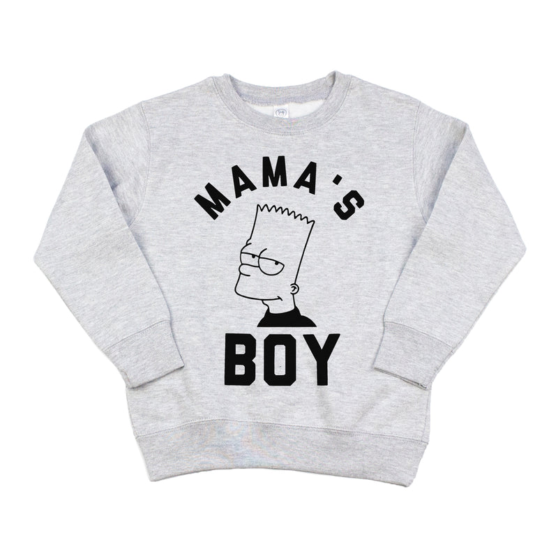 Mama's Boy - Kids Fleece Pullover