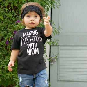 Making Memories with Mom - Kids Tee