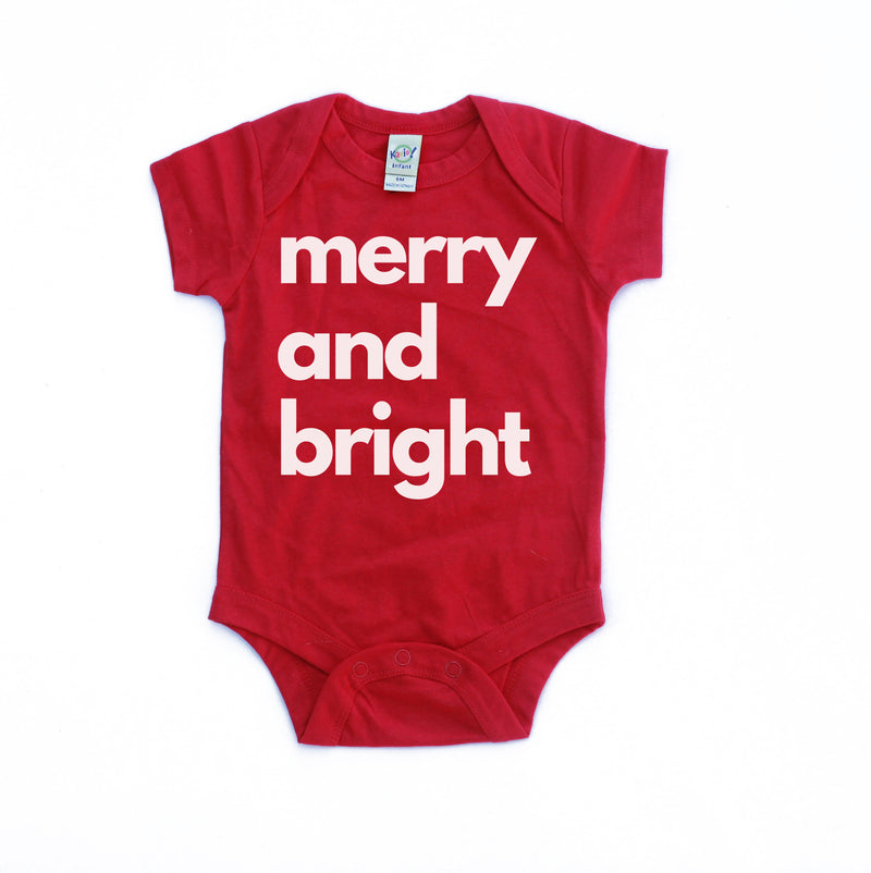 Merry and Bright - Infant Holiday Bodysuit