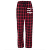 Merry and Bright - Plaid Adult Pajama Pants