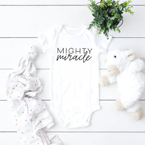 Mighty Miracle - Baby Bodysuit
