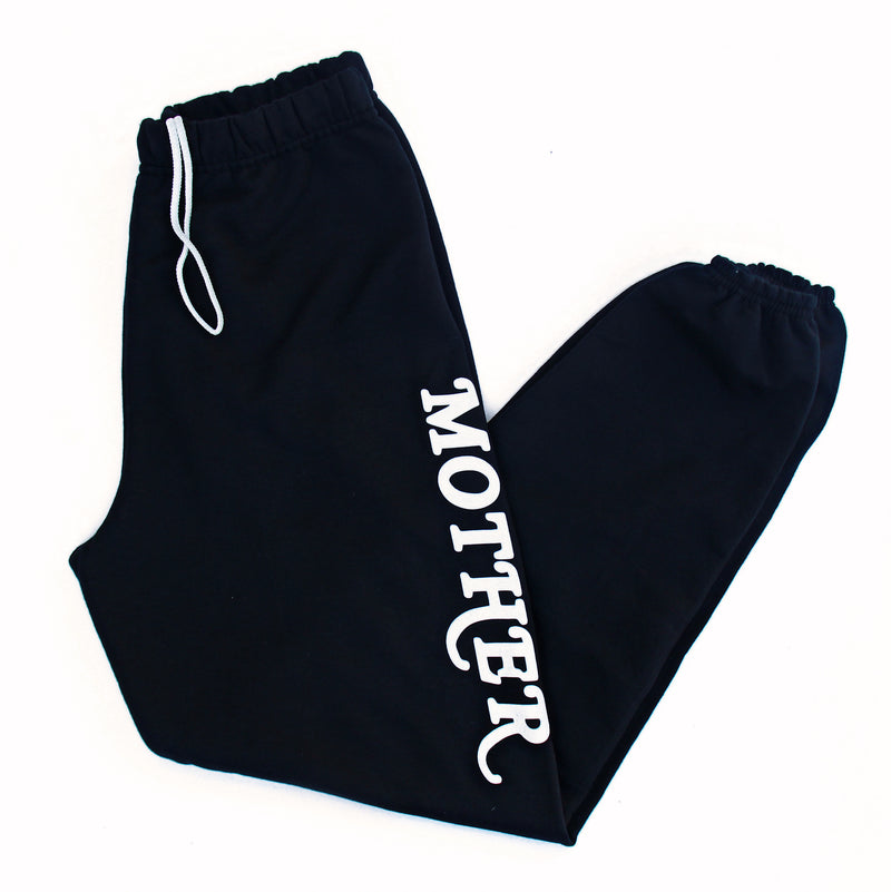 Mother - Black Unisex Fleece Sweats