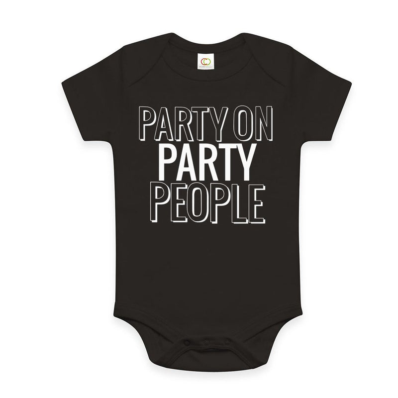 Party on Party People - Baby Bodysuit