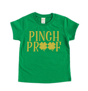 Pinch Proof gold ink - Kids St. Patrick's  Tee