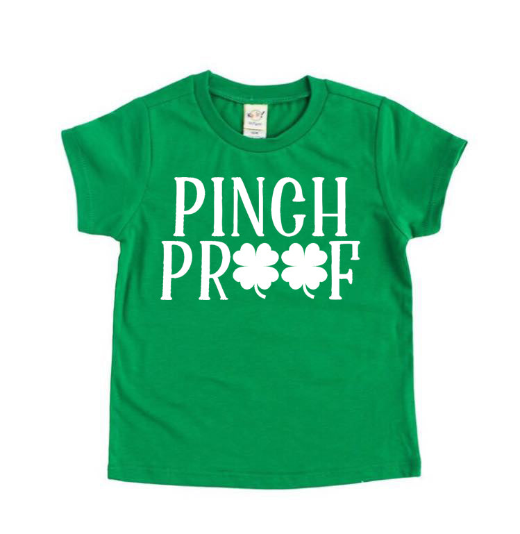 Pinch Proof - Kids St. Patrick's  Tee