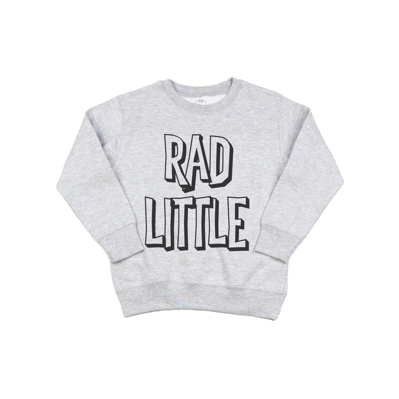 Rad Little - Kids Fleece Pullover