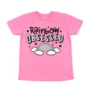 Rainbow Obsessed - Kids Tee