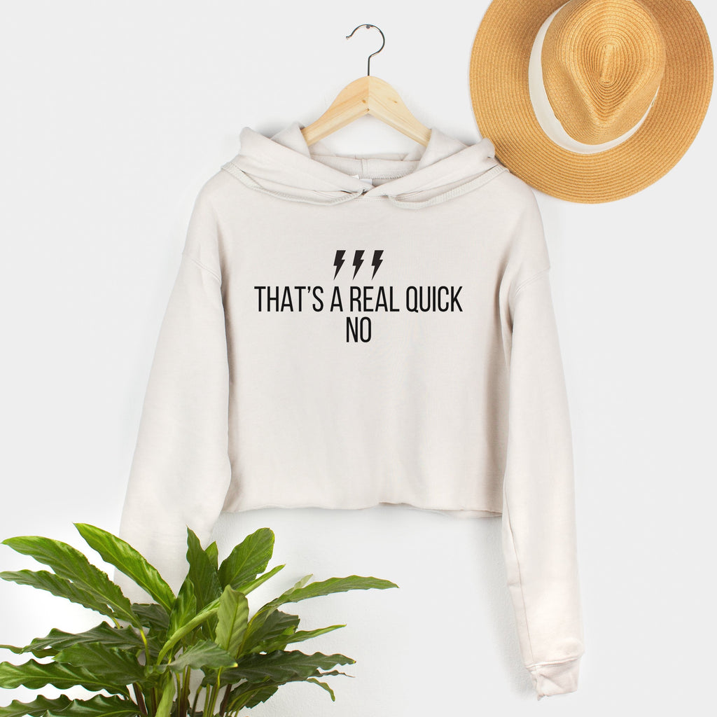 real quick no david rose quote schitts creek womens cropped hoodie women's crop hooded sweatshirt schitts creek graphic apparel gift