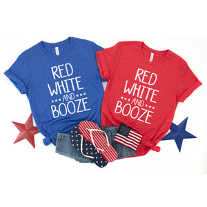 Red White and Booze - Unisex Adult Tee