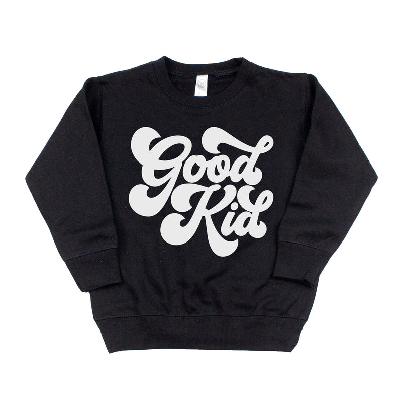 Retro Good Kid - Kids Fleece Pullover