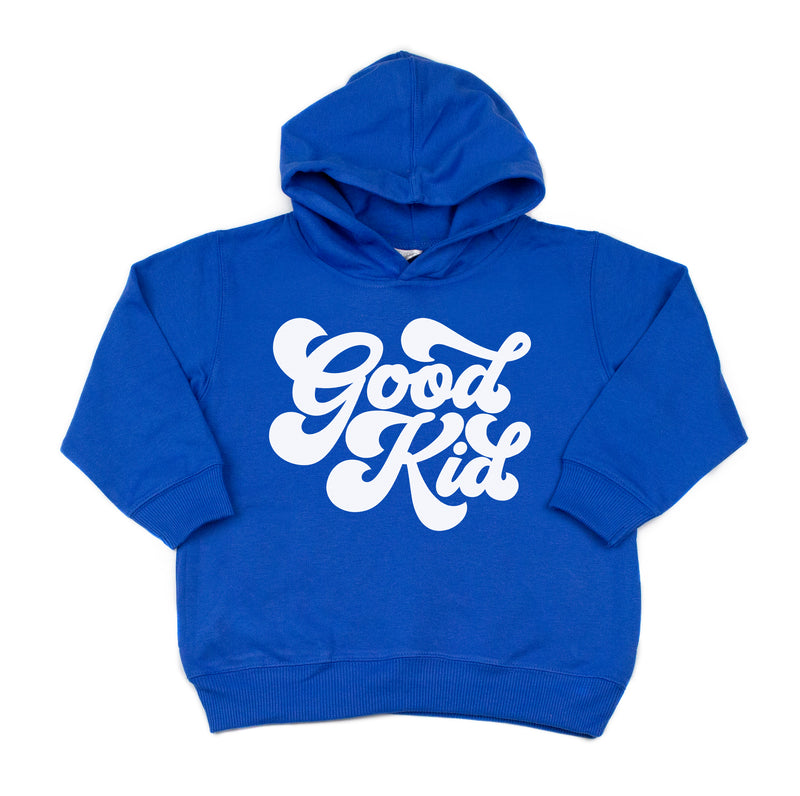 Retro Good Kid - Kids Fleece Hoodie