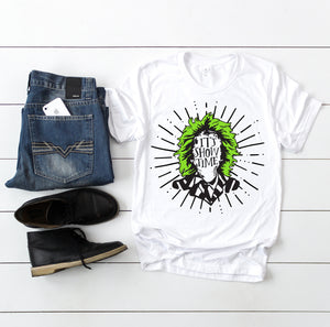 It's Showtime black & lime ink - Adult Halloween Tee