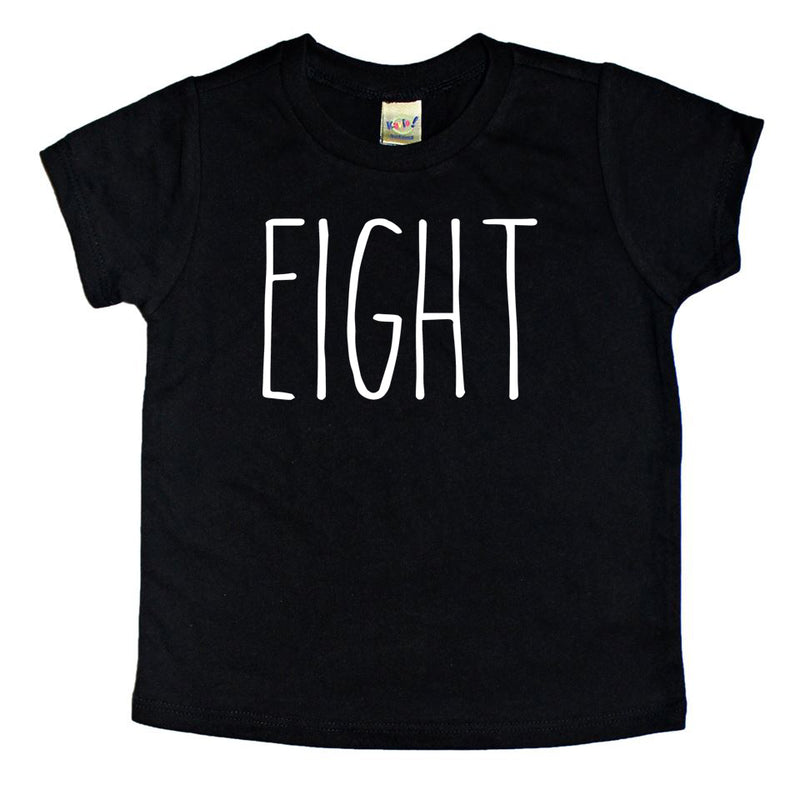 Skinny Eight Birthday Shirt - Kids Tee