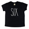 Skinny Six Birthday Shirt - Kids Tee