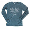 Sleep Chaos Love - Heather Slate Unisex Long Sleeve