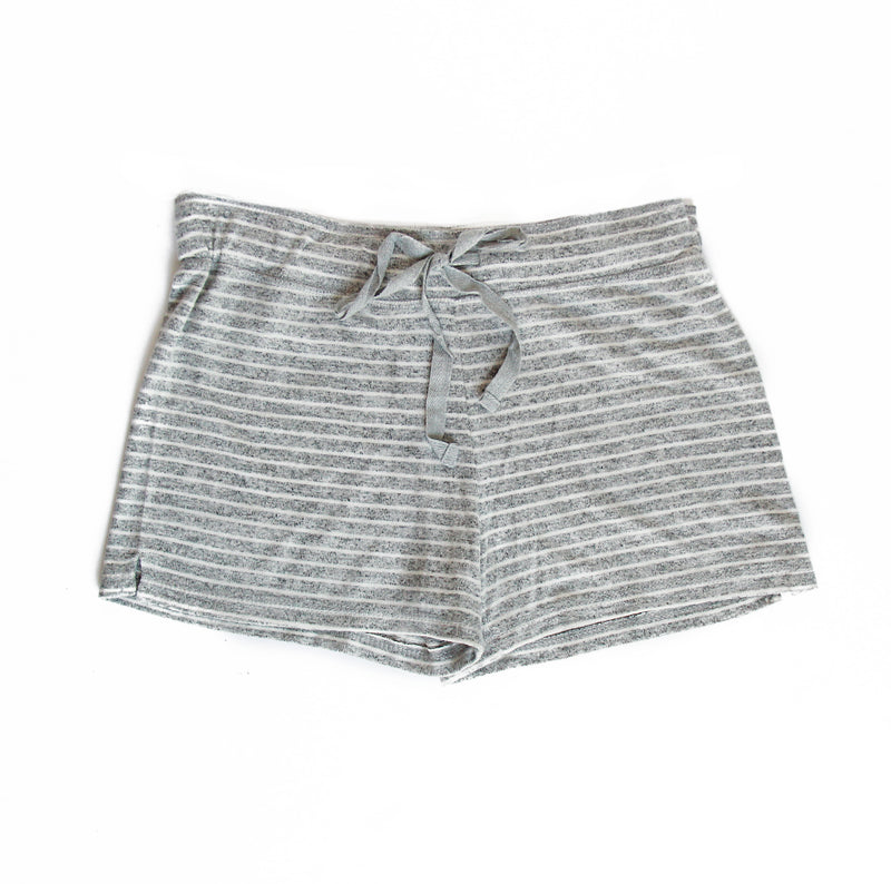 Striped Women's Lounge Shorts