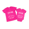 Strong Fierce Full of Fire - Kids Tee