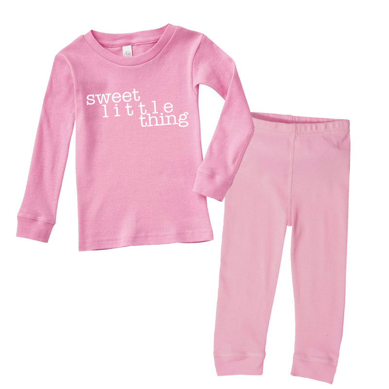 Sweet Little Thing - Infant/Toddler Pajama Set