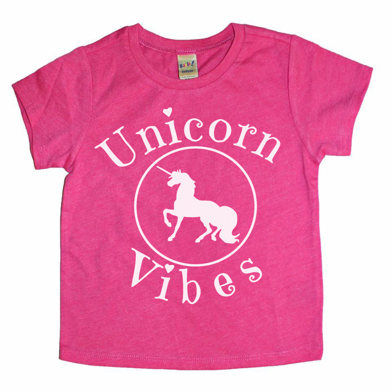 Unicorn Vibes  - Kids Tee