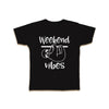 weekend vibes funny kids sloth shirt kids tee cute graphic kids tshirt