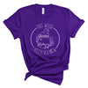 This Witch Needs Her Brew - Purple Unisex Adult Tee