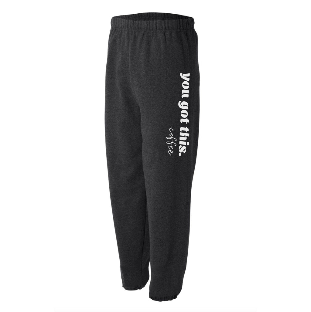 You Got This - Heather Black Unisex Fleece Sweats