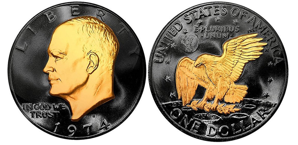 Black Ruthenium Lucky Coin