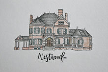 Westwood Framed Watercolor Painting