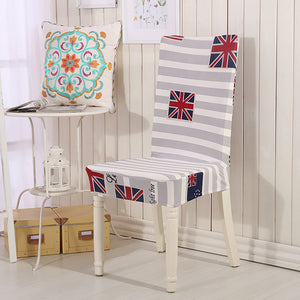 styles chair chairs covers dinner spandex printing new product wedding white floral colorful for elastic