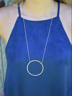 What Goes Around Necklace