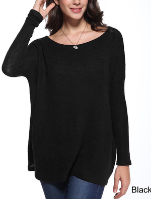 Black Piko Sweater