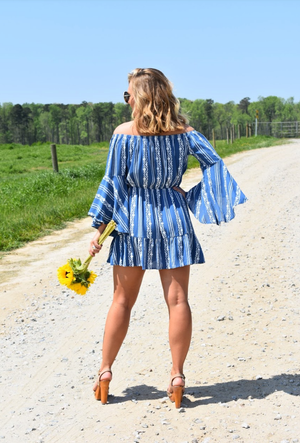 Sunny Daze Bell Sleeve Dress