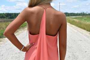 Coral Crush Dress