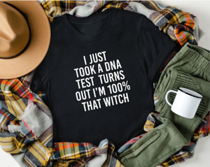 That Witch Graphic Tee - Black