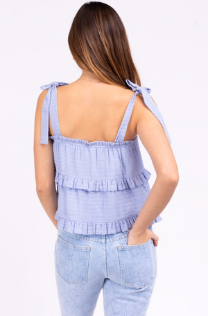 The Babe Tank- Baby Blue