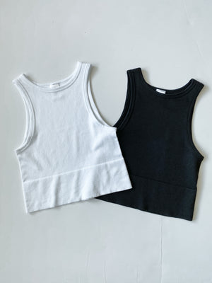 The Lucy Tank - black and white