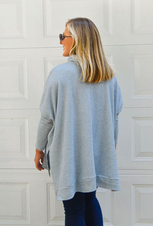 Baby Blue Tunic Thermal Top