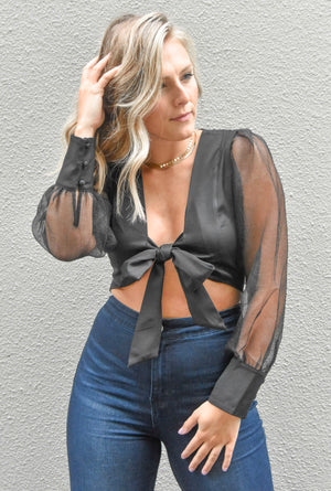 The Brooklyn Top - Black