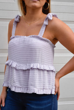 The Babe Tank- Lavender