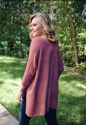 Fall Vibes Sweater -Ginger
