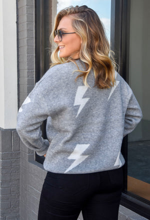 The Jamie Sweater- Grey