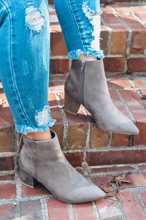 Rapid Booties- Taupe